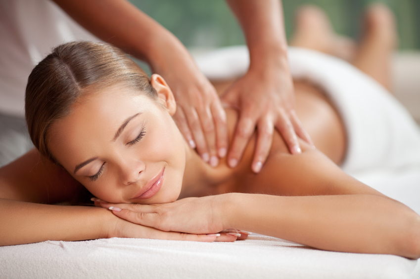 Private massage therapy treatment